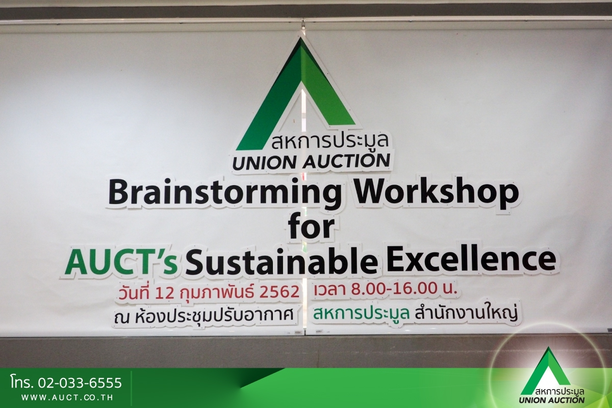 Brainstorming Workshop for Auct\'s Sustainable Excellance